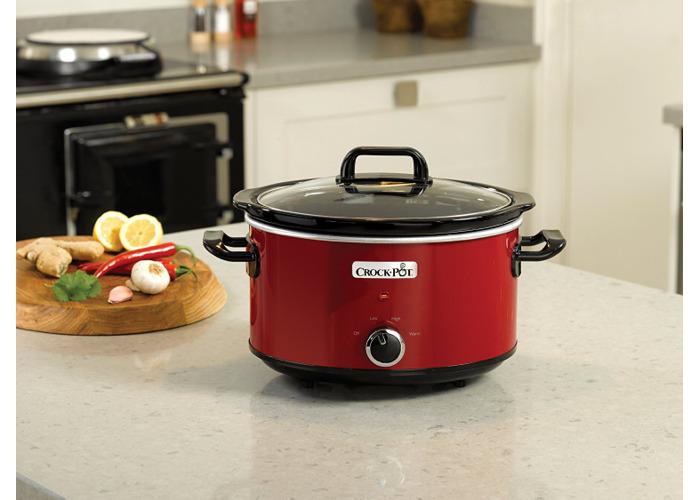 Crock-Pot SCV400RD-060 Slow Cooker, 3.5L - Red - 1