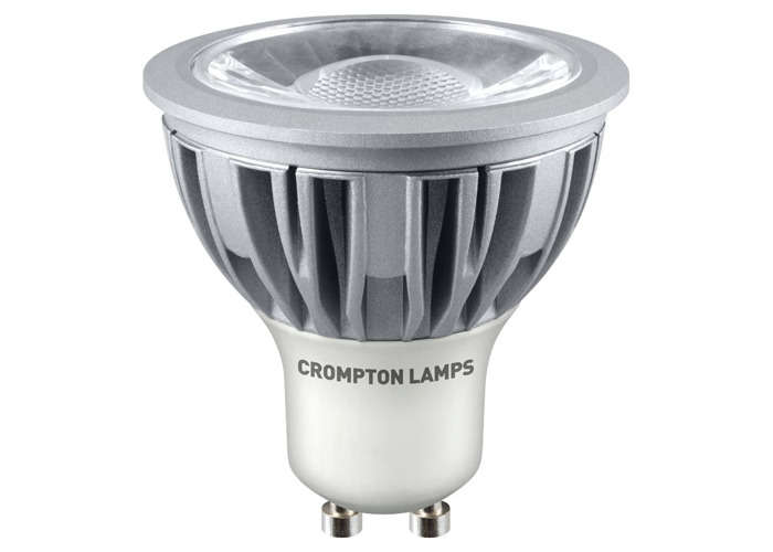 Crompton LED GU10 COB 5W Non-Dimmable Spotlight, 45° Beam, Daylight - 1