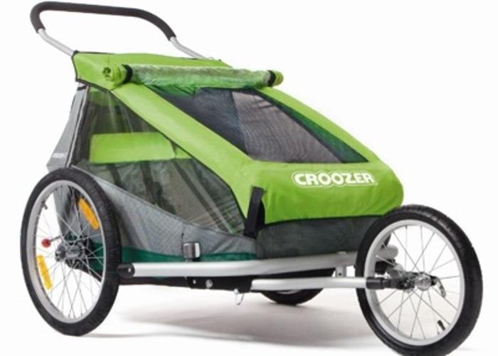Croozer Kid for 2 Bike Trailer Double Pram Buggy - 1