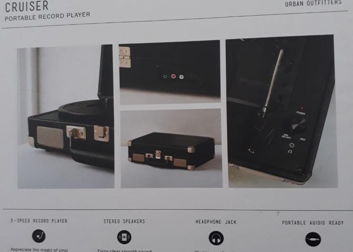 Crosley Cruiser Vinyl Record Player - 1