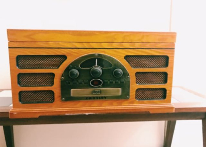 Crosley Turntable/CD Player/Radio/Speaker - 2