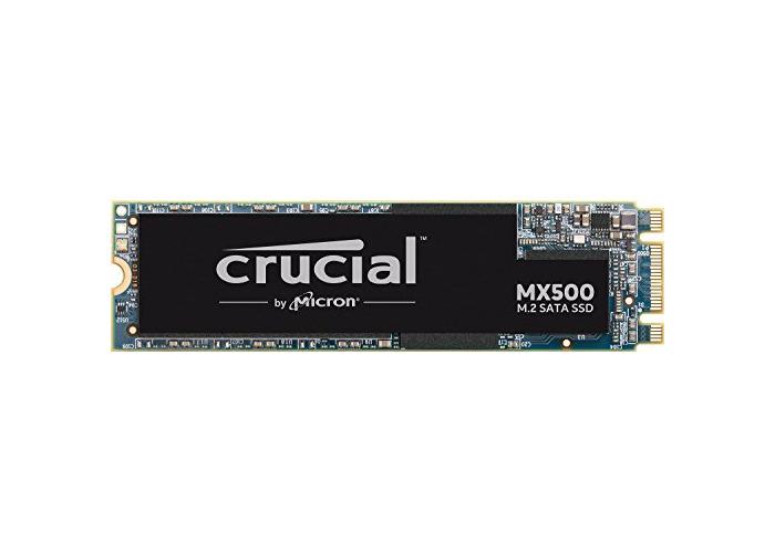 Crucial MX500 CT1000MX500SSD4 1 TB (3D NAND, SATA, M.2 Type 2280SS, Internal SSD) - 1