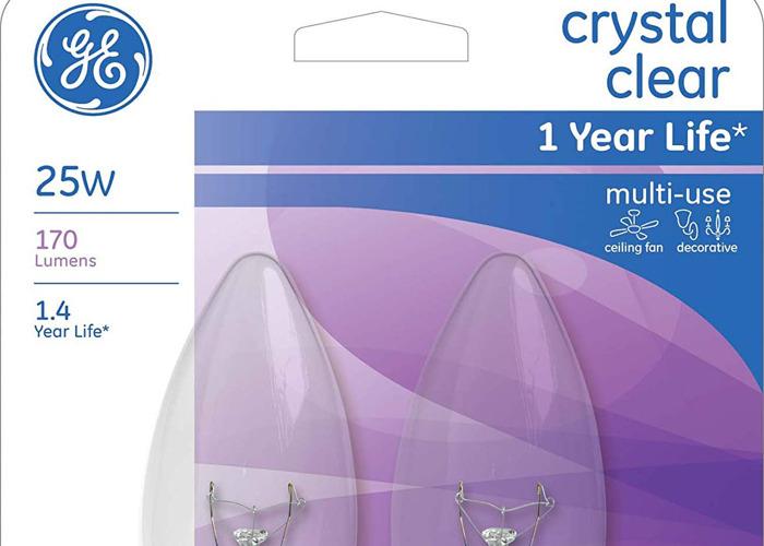 crystal clear 25w bulb - 1
