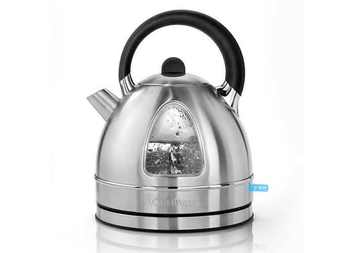 Cuisinart CTK17U Brushed Dome Kettle, Stainless Steel - 1