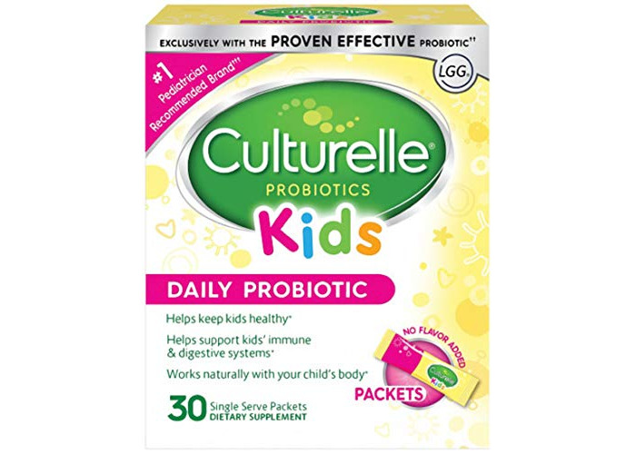 Culturelle Kids Packets Daily Probiotic Formula, One Per Day Dietary Supplement, Contains 100% Naturally Sourced Lactobacillus GG –The Most Clinically Studied Probiotic†, 30 Count - 1