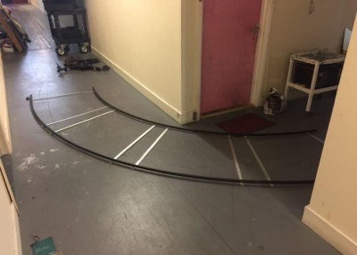 Curved 90 degree Track 13ft/3.96m for IDS Indie Dolly System - 2