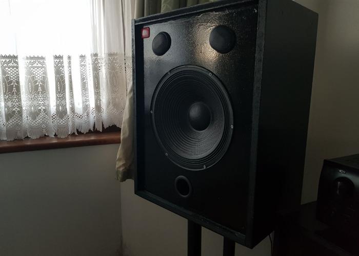 Custom Built PA/HiFi/Studio Speakers for hire - 2