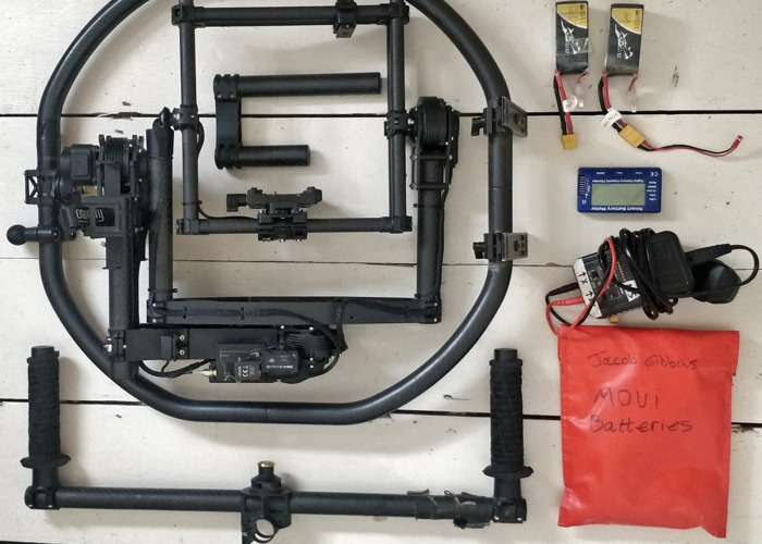 Custom Movi M15 gimbal - Extended for larger cameras - 1