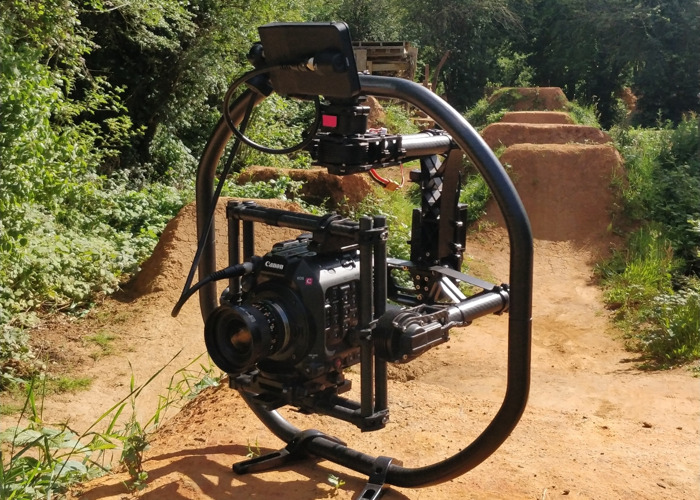 Custom Movi M15 gimbal - Extended for larger cameras - 2
