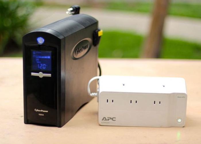 Cyberpower 900W Battery Backup & APC Battery Backup - 1