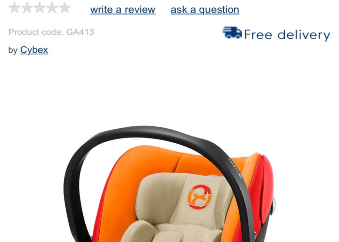 Cybex Aton Q Car Seat with Isofix base - 1