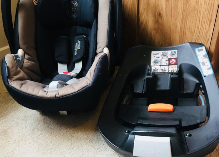 Cybex car seat and isofix  - 1