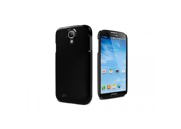 Cygnett form Slim Glossy Case with Screen Protector for Samsung Galaxy S4 - Black - 1