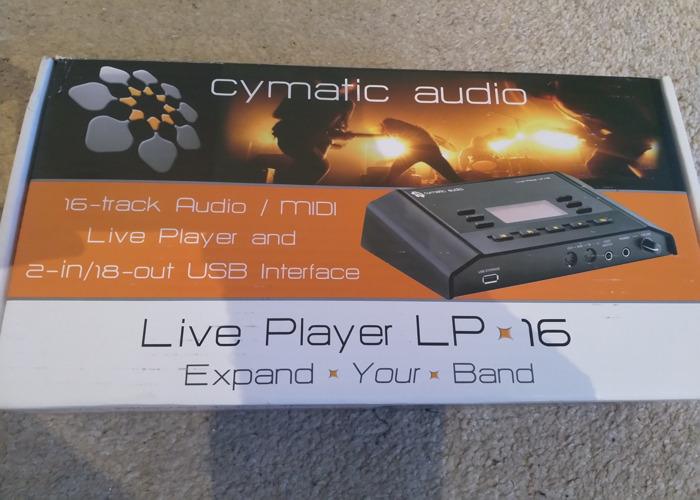 Cymatic Audio LP16 Live Player - 1