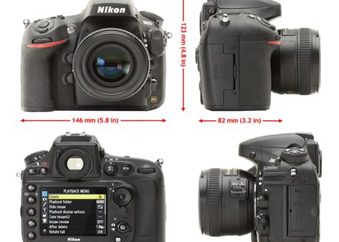 D800 Kit D800, Sigma 10-20mm, Nikon 50mm, charger, battery - 1