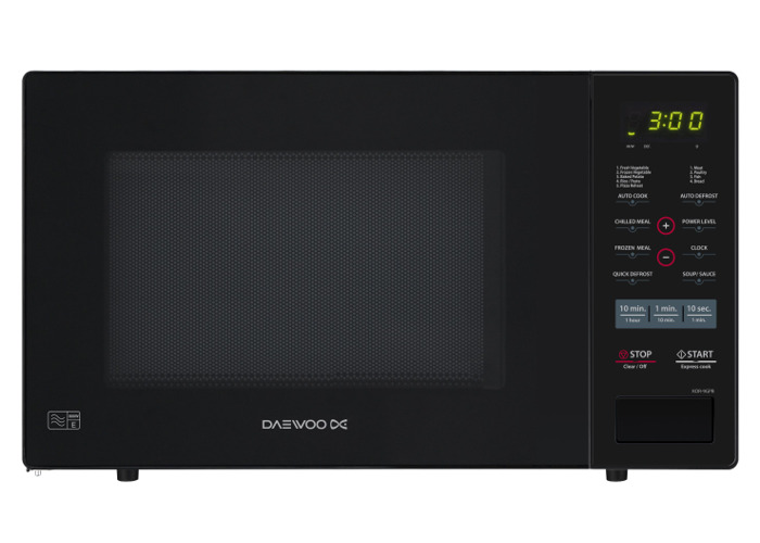 Daewoo KOR9GPB Microwave Digital Touch Controls 900w 26ltr Black - 1