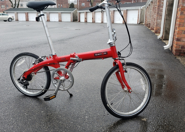 7 speed Dahon Eco 3 Folding Bike - 1