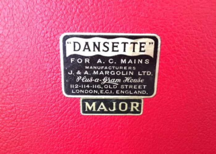 Dansette Major Vintage 1950's Record Player - 2