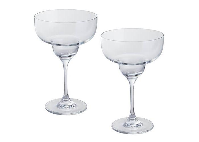 Dartington 2-Piece Crystal Wine and Bar Margarita Glass, 1 Pair - 1