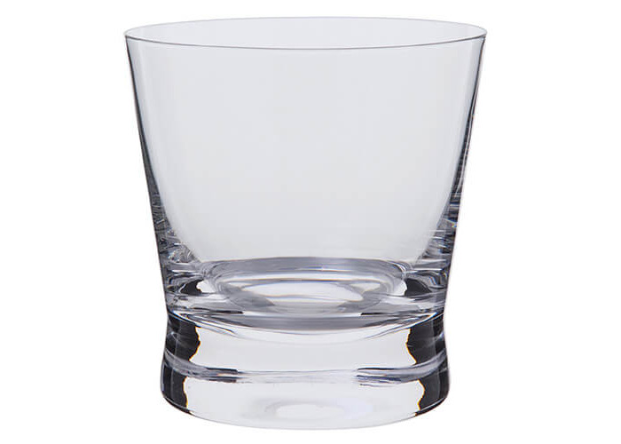Dartington Bar Excellence Whisky Rocks Glass, Clear, Pack of 2 - 2