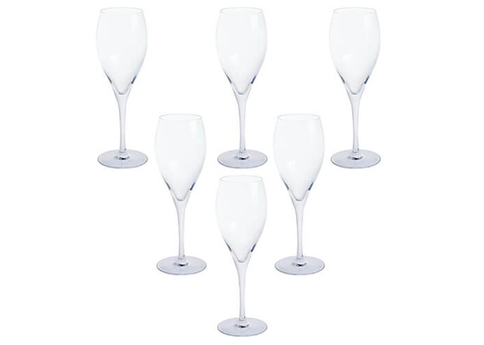 Dartington Crystal Prosecco Party, clear, Pack of 6 - 1