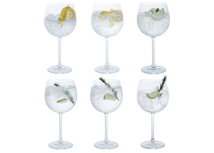 Dartington Crystal Set of 6 Gin and Tonic Copa Glasses 570ml Boxed - 1