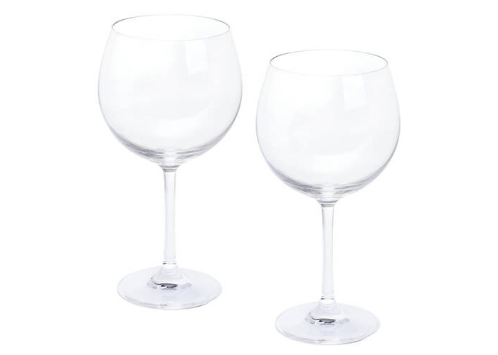 Dartington Crystal Wine and Bar/Copa Gin and Tonic, clear, Pack of 2 - 1