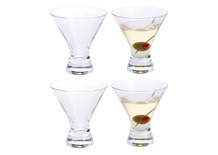 Dartington Home Bar Martini Cocktail Glass Pack Of 4 - 1