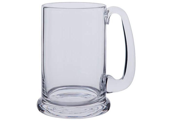 Dartington Real Ale Tankard, clear - 1