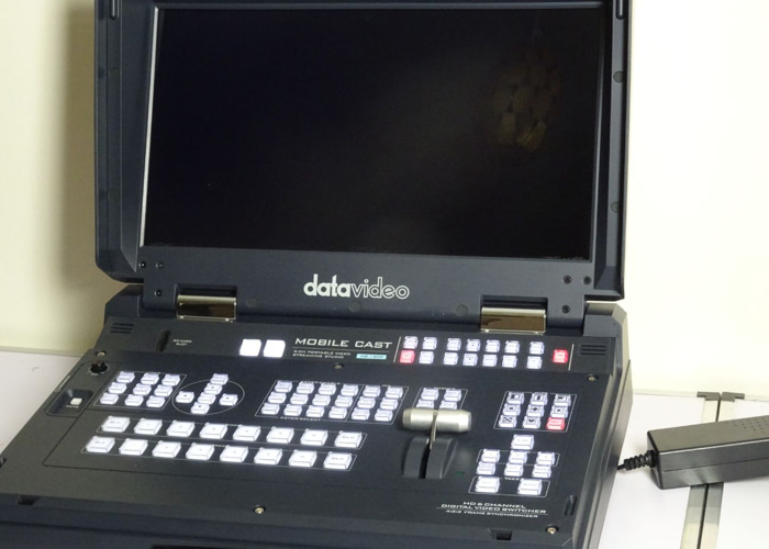 Datavideo HS-1300 6 Channel Portable HD Streaming Studio wit - 1