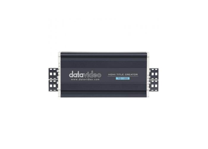 Datavideo TC-100 Live HDMI Title Overlay Box - 1