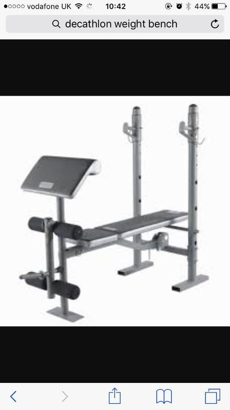 Decathlon folding weight lifting bench - 1