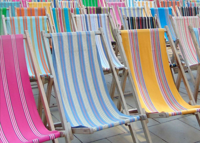 Deckchairs for hire! - 1
