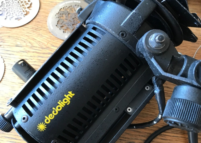 Dedo light DLH4 150w with dimmer and DP1 projector - 2