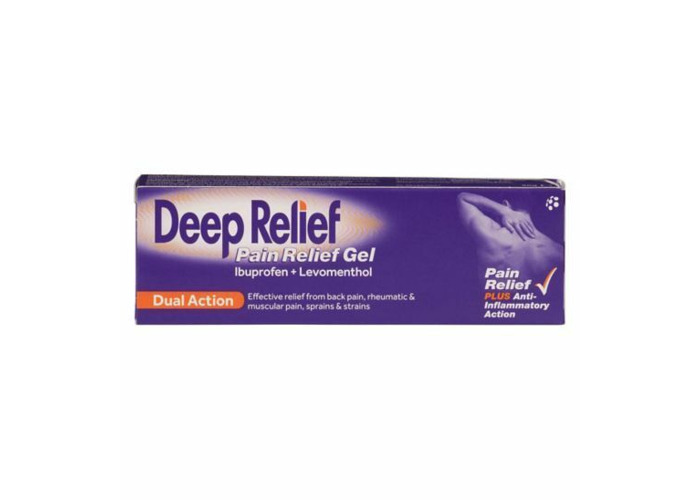 Deep Relief pain relief dual action gel( 30g x3 ) CHEAPEST - 1