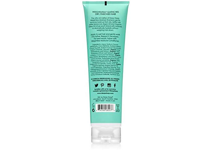 Deep Steep Weightless Moisture Shampoo, 10 fl oz - 2