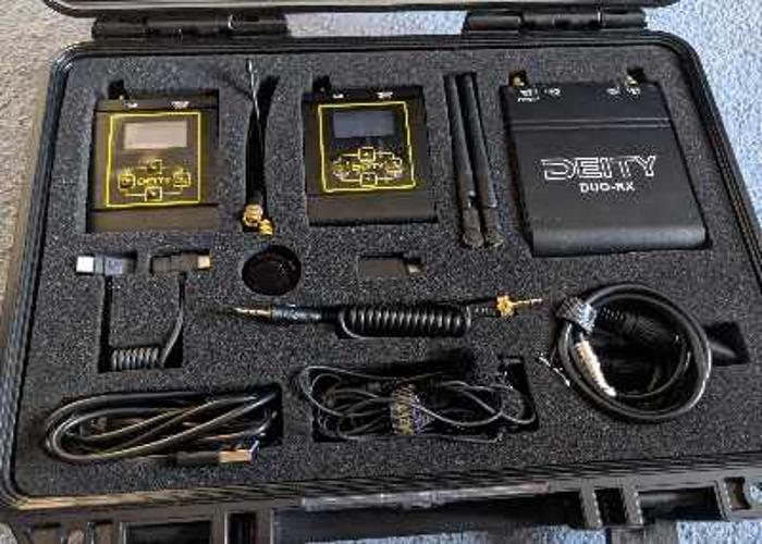 Deity Connect 2.4G Dual Wireless Lav / Lapel Mic Kit - 2
