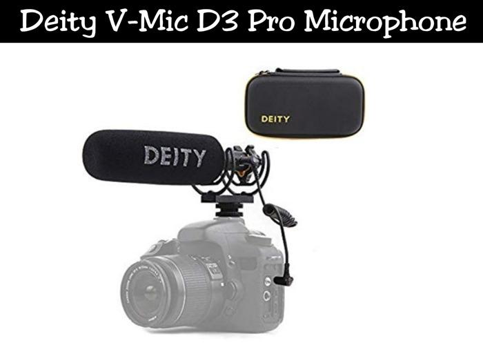 DeityV-Mic D3 Pro   Videomic NTG - 1