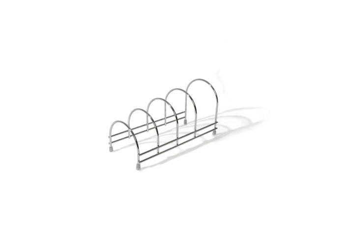 Delfinware Stainless Steel Plate Storage Rac - 1