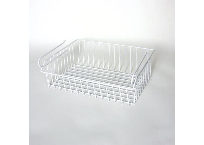 Delfinware Under Shelf Basket, White - 1