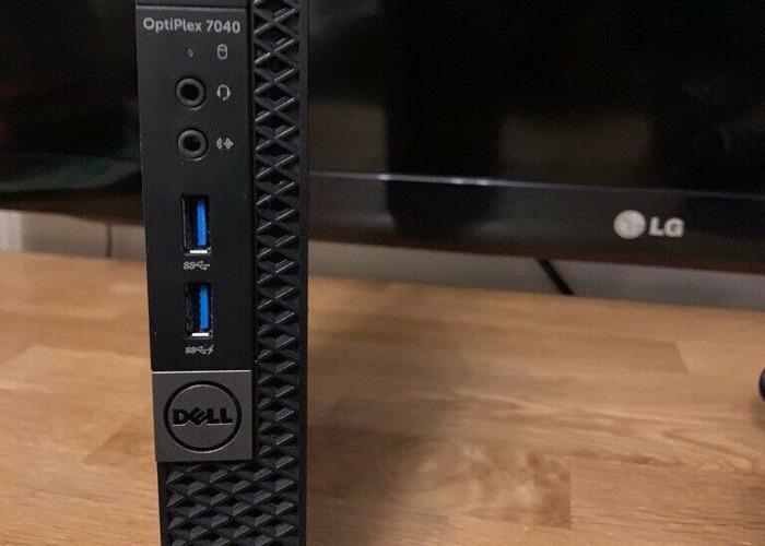 Dell OptiPlex 7040 PC Intel core i7-6700T 16GB DDR4 RAM 1 TB SSD Samsung Evo - 1