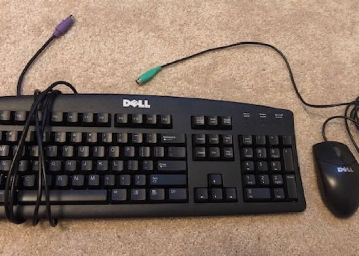 Dell ps/2 keyboard mouse combo - 1