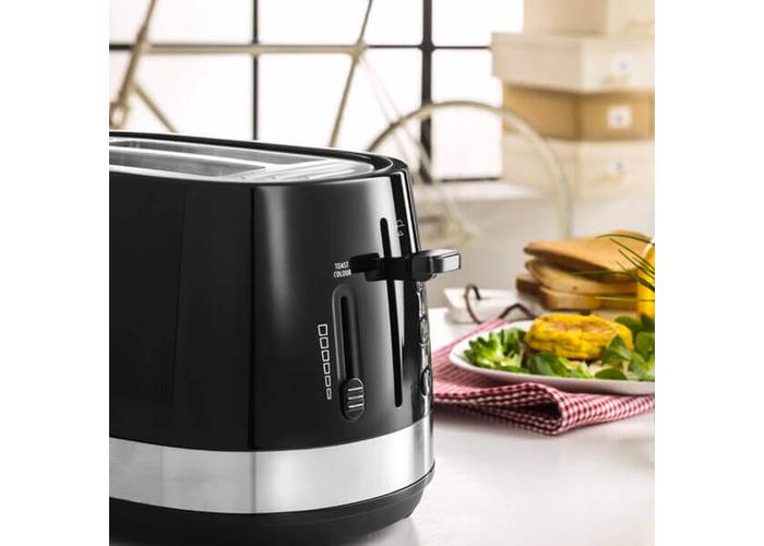 Delonghi Active Line 2 Slot Toaster Black - 2