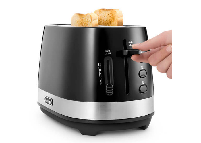 Delonghi Active Line 2 Slot Toaster Black - 1