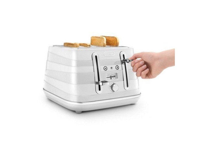 Delonghi Avvolta Wrap-around Design Toaster- Black - 1