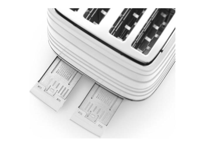 Delonghi Avvolta Wrap-around Design Toaster-Red - 2