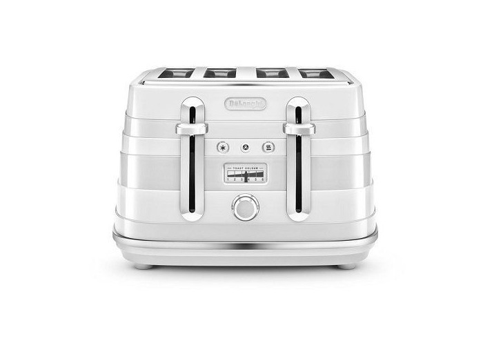 Delonghi Avvolta Wrap-around Design Toaster-Red - 1
