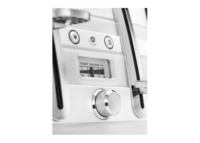 Delonghi Avvolta Wrap-around Design Toaster-White - 2