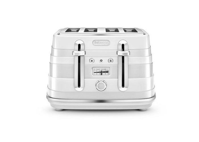 Delonghi Avvolta Wrap-around Design Toaster-White - 1