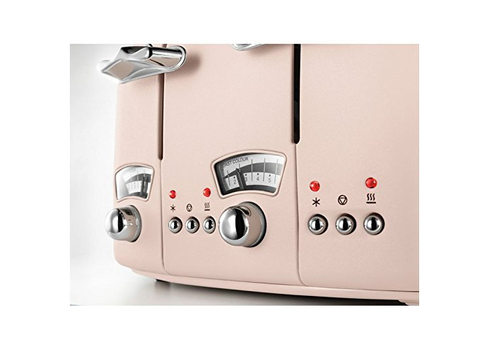 De'Longhi CTO4.PK Argento Flora Toaster - Rose - 2